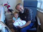 Grandpa and his 2 girls