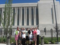 Highlight for Album: Utah trip - Oquirrah Mountain Temple Open House