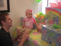 Highlight for Album: Taylor's 1st Birthday