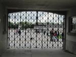 gate into Dachau camp